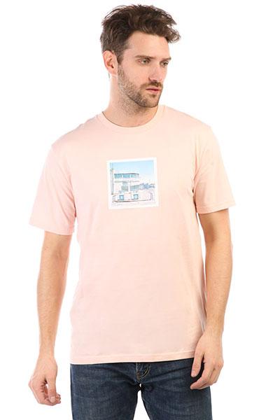 Футболка DC Viajero English Rose<br><br>Цвет: розовый<br>Тип: Футболка<br>Возраст: Взрослый<br>Пол: Мужской