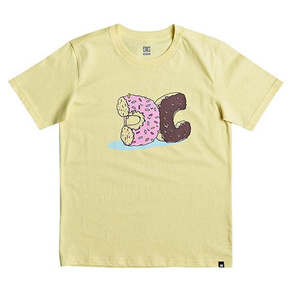 Футболка детская Quiksilver Donut Crush Lemon Meringue<br><br>Цвет: желтый<br>Тип: Футболка<br>Возраст: Детский