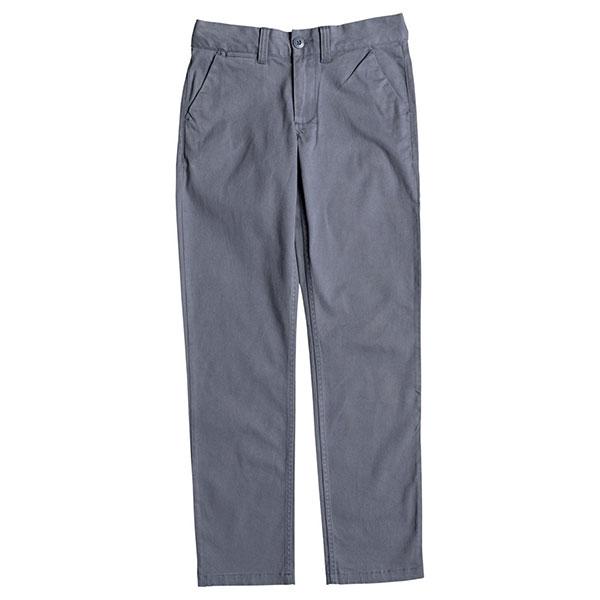 Штаны прямые детские DC Shoes Worker Straight Blue Mirage<br><br>Цвет: синий<br>Тип: Штаны прямые<br>Возраст: Детский