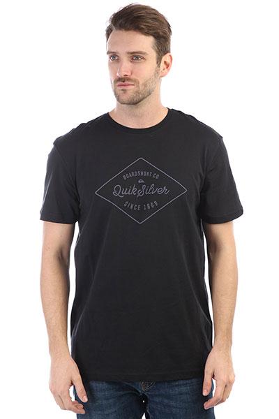 Футболка Quiksilver Ssclaamethyst Black футболка pepe jeans london футболка