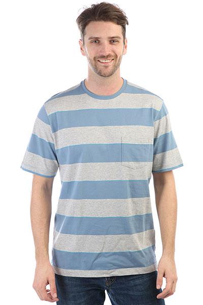 Футболка Quiksilver Tallmountaincre Blue Shadow Tall Mou футболка pepe jeans london футболка