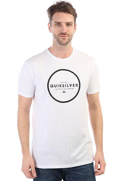 Футболка Quiksilver Ssanthunterdown White футболка quiksilver barreldayss white