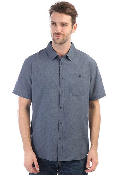 Рубашка Quiksilver Techshirt Dark Denim Heather рубашка jack