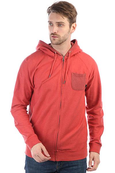 Толстовка классическая Quiksilver Baaozip Mineral Red red fox перчатки power stretch