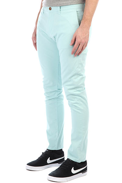 Штаны узкие Quiksilver Krandy Eggshell Blue штаны прямые penfield howland twill pants black