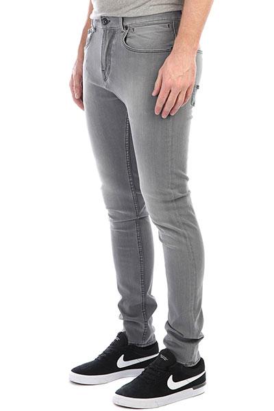 Штаны узкие Quiksilver Lowbridgegrey Grey<br><br>Цвет: серый<br>Тип: Штаны узкие<br>Возраст: Взрослый<br>Пол: Мужской