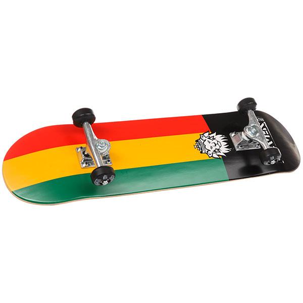 Скейт круизер Seven Rasta Lion 7.8 проводные наушники marley smile jamaica rasta em je041 ra