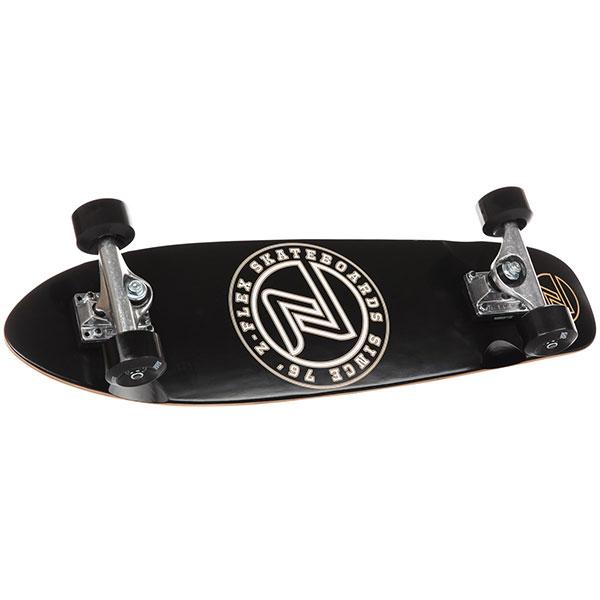 Скейтборд в сборе Z-Flex Circle Cruiser Black/White куплю бу колеса в сборе