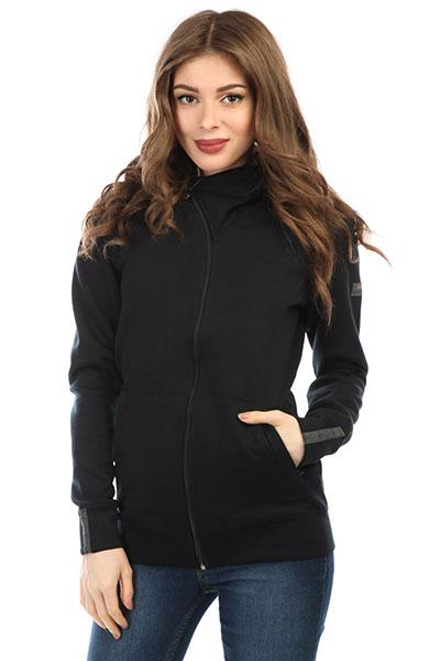 Толстовка классическая женская Roxy Wrap It Up True Black<br><br>Цвет: черный<br>Тип: Толстовка классическая<br>Возраст: Взрослый<br>Пол: Женский