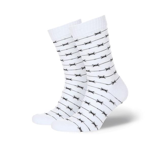 Носки средние 1/6 Проволока Белый<br><br>Цвет: белый<br>Тип: Носки средние<br>Возраст: Взрослый<br>Пол: Мужской
