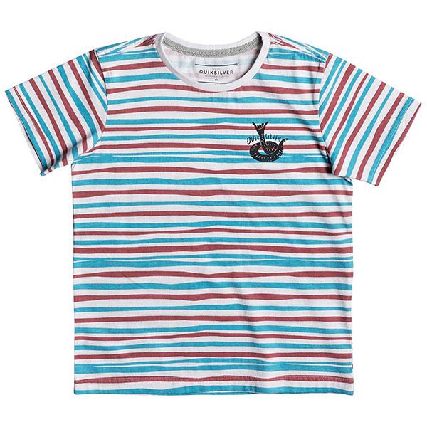 Футболка детская Quiksilver Railfictionby White<br><br>Цвет: мультиколор<br>Тип: Футболка<br>Возраст: Детский