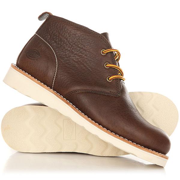 Ботинки высокие Dickies Nebraska Dark Brown dickies мужские модные тапочки161m50lxs01