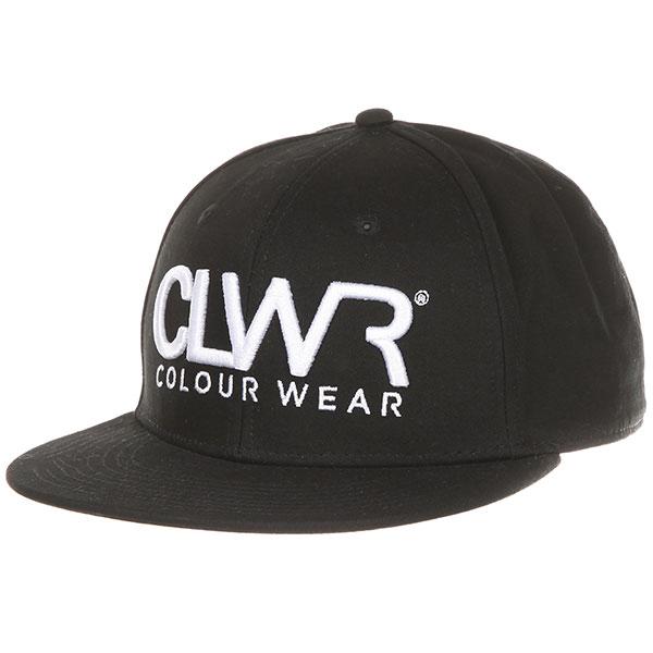 Бейсболка с прямым козырьком CLWR Clwr Cap Black бейсболка с прямым козырьком etnies tilney ball cap black