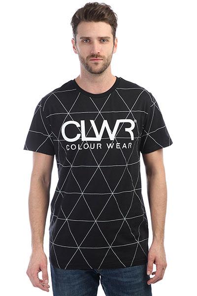 Футболка Colour Wear Clwr Tee Black Polygon футболка clwr clwr cl003ewtqu55
