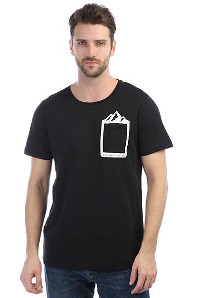 Футболка Colour Wear Rock Tee Black комплект футболок carhartt wip i020460 black black