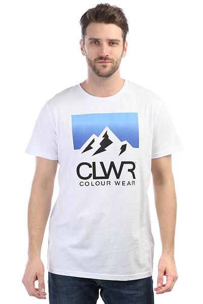 Футболка Colour Wear Dawn Tee White футболка puma футболка disrupt tee