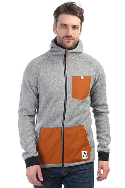 Толстовка классическая Colour Wear Scale Fleece Hood Grey Melange tommy hilfiger джемпер tommy hilfiger 1957893275 lt grey htr