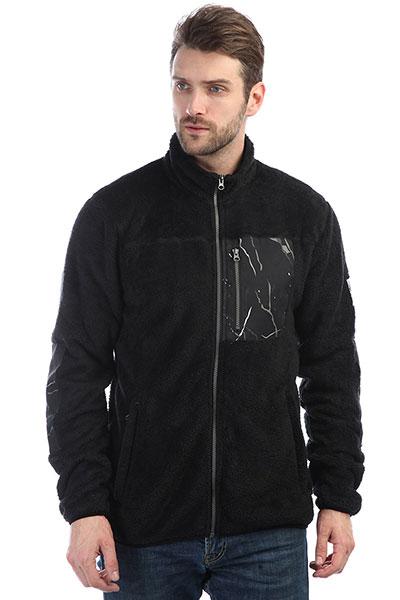 Толстовка классическая Colour Wear Pile Fleece Jacket Black steel way толстовка steel way s10915 коричневый