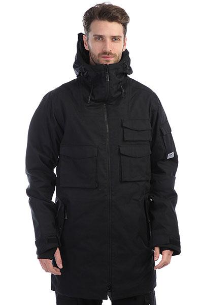 Куртка утепленная Colour Wear Cargo Parka Black куртка iriedaily city arctic parka black 700 m