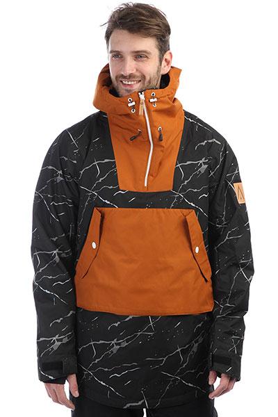 Анорак Colour Wear Anorak Black Marble комплект футболок carhartt wip i020460 black black