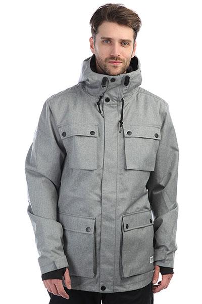 Куртка утепленная Colour Wear Cargo Jacket Grey Melange tommy hilfiger джемпер tommy hilfiger 1957893275 lt grey htr