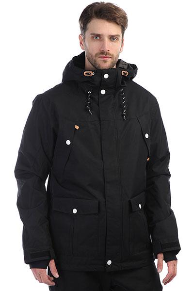 Куртка утепленная Colour Wear Charge Jacket Black комплект футболок carhartt wip i020460 black black