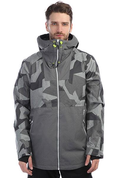 Куртка утепленная Colour Wear Block Jacket Asymmteric Grey tommy hilfiger джемпер tommy hilfiger 1957893275 lt grey htr