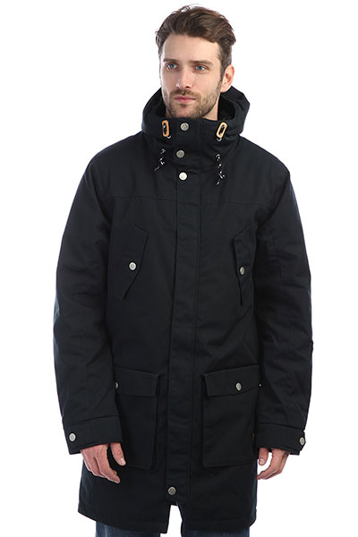 Куртка парка Colour Wear Storm Parka Black комплект футболок carhartt wip i020460 black black