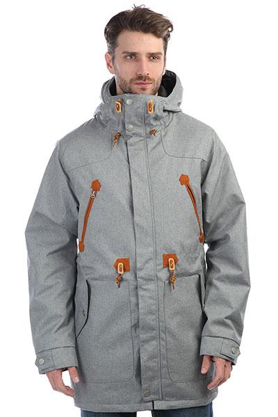 Куртка парка Colour Wear Urban Parka Grey Melange tommy hilfiger джемпер tommy hilfiger 1957893275 lt grey htr