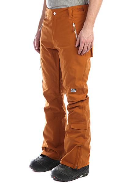Штаны сноубордические Colour Wear Sharp Pant AdobeВысококачественные сноубордические штаны из эластичного материала, благодаря которому они отличаются большей износостойкостью и свободой движений. Зауженный крой при этом обеспечивает аккуратный внешний вид, а регулируемый пояс на липучках позволяет быстро отрегулировать размер под себя.Характеристики: Мембрана – 10К. Полностью проклеенные швы. Водостойкие молнии YKK AquaGuard®.Снегозащитные гетры. Вентиляционное отверстие с внутренней стороны бедра. Регулируемая талия с петлями для ремня. Система присоединения куртки к штанам. Карманы для рук. Два накладных кармана по бокам. Один карман сзади. Усиленные манжеты штанин. Регулируемые наплечные ремни. Боковые карманы на водонепроницаемой молнии. Фирменный логотип.<br><br>Цвет: коричневый<br>Тип: Штаны сноубордические<br>Возраст: Взрослый<br>Пол: Мужской