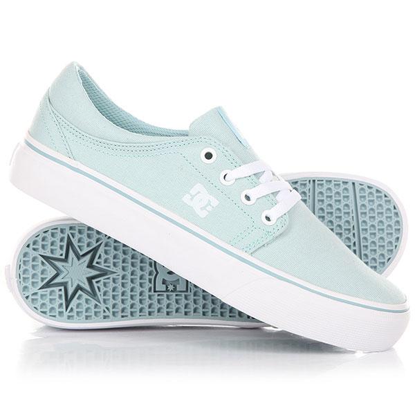 Кеды кроссовки низкие женские DC Trase Tx Light Blue dc shoes кеды dc heathrow se 11