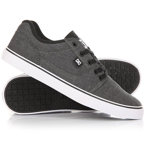 Кеды кроссовки низкие DC Tonik Tx Se Black/Battleship/Black dc shoes кеды dc shoes tonik tx red 11