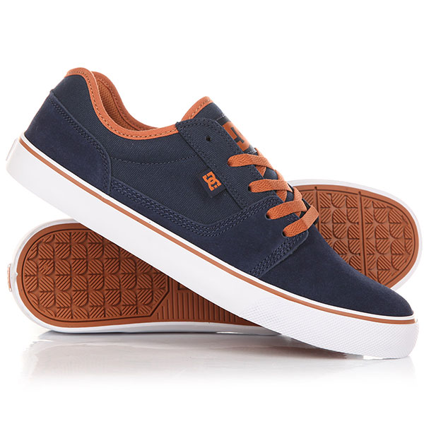 Кеды кроссовки низкие DC Tonik Navy/Bright Blue dc shoes кеды dc heathrow se 11