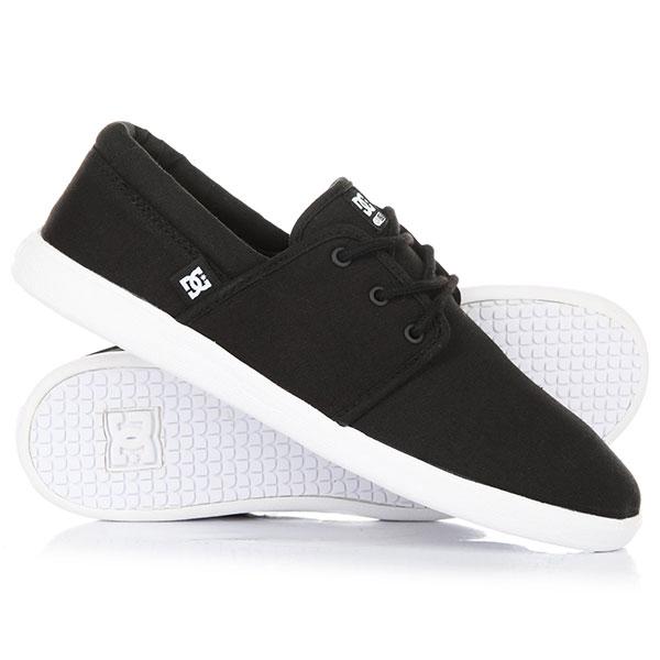 Кеды кроссовки низкие DC Shoes Haven Black/Black/White кеды кроссовки высокие dc council mid black armor white