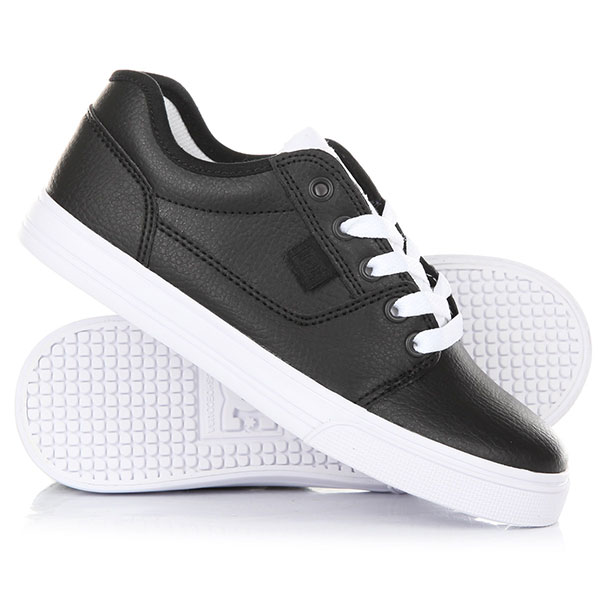 Кеды кроссовки низкие детские DC Shoes Tonik Se Black/White dc shoes кеды dc shoes tonik w se burgundy 8