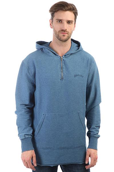 Толстовка кенгуру Quiksilver Desska Blue Used<br><br>Цвет: синий<br>Тип: Толстовка кенгуру<br>Возраст: Взрослый<br>Пол: Мужской