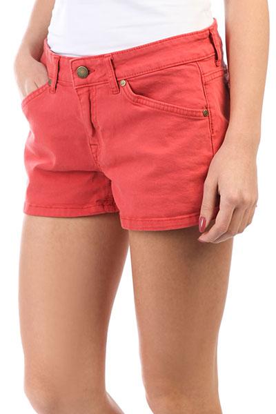 Шорты джинсовые Roxy Seatrippershort Tandoori Spice<br><br>Цвет: красный<br>Тип: Шорты джинсовые<br>Возраст: Взрослый<br>Пол: Женский