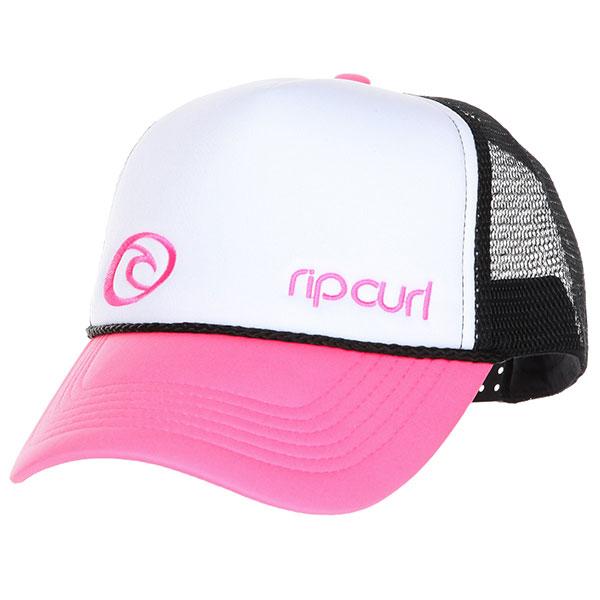 Бейсболка с сеткой женская Rip Curl Hotwire Trucka Cap Bright Pink<br><br>Цвет: розовый<br>Тип: Бейсболка с сеткой<br>Возраст: Взрослый<br>Пол: Женский