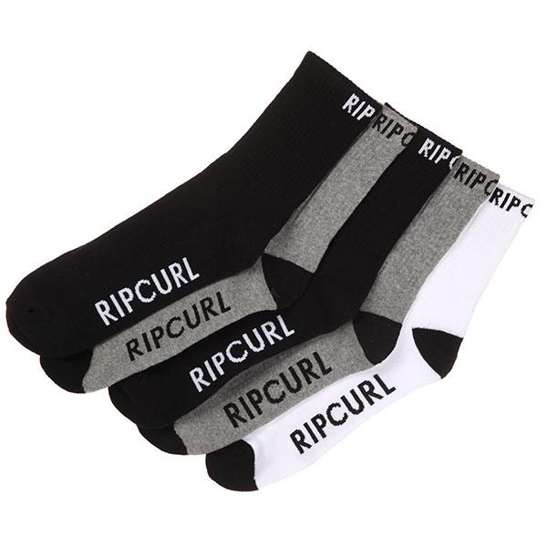 Носки средние Rip Curl Crew Sock 5-pack Classic брюки сноубордические rip curl штаны base pt