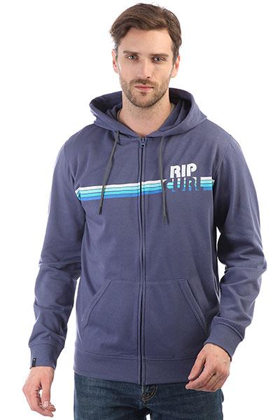 Толстовка классическая Rip Curl Big M Fleece Blue Indigo толстовка свитшот rip curl beat fleece night sky