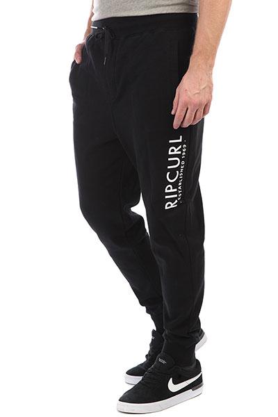 Штаны спортивные Rip Curl After Session Pant Black штаны сноубордические детские rip curl base jr mediterranean blue