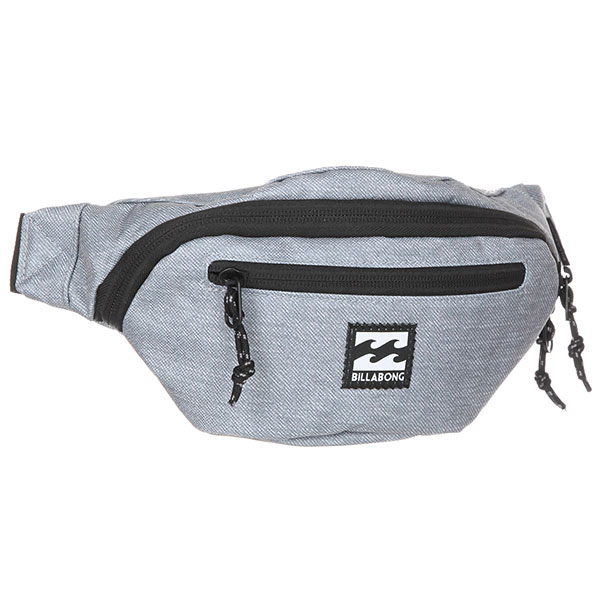 Сумка поясная Billabong Java Waistpack Grey Heather