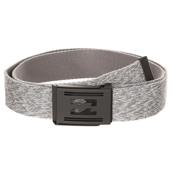 Ремень Billabong Logistik Heather Belt Grey Heather шапка billabong disaster dark grey heather