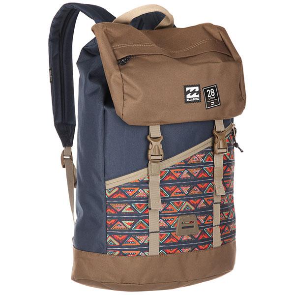 Рюкзак туристический Billabong Track Pack Navy/Khaki штаны прямые billabong new order chino khaki