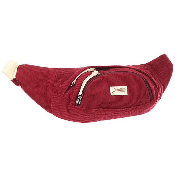 Сумка поясная Запорожец Velveteen Waist Bag BordeauxСумка ЗАПОРОЖЕЦ Velveteen Waist Bag – это стильная новинка от бренда Запорожец.Данное изделие превосходно носится, ткань отличается комфортным прилеганием.Характеристики:Основное отделение на молнии.Передний карман на молнии. Регулируемый пояс.<br><br>Цвет: бордовый<br>Тип: Сумка поясная<br>Возраст: Взрослый<br>Пол: Мужской