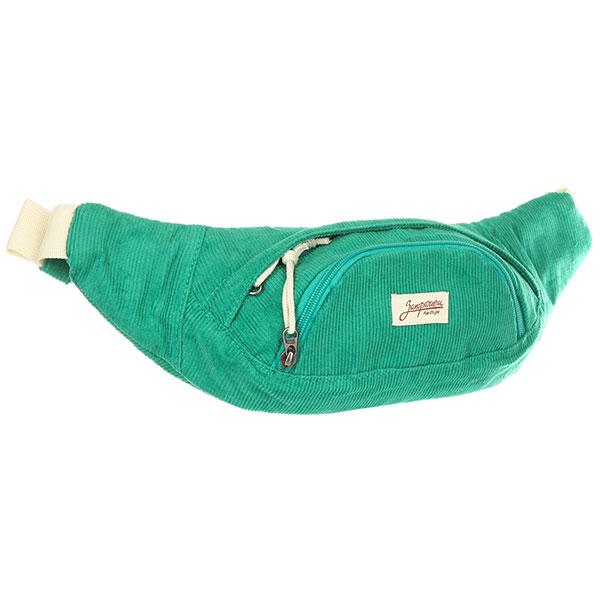 Сумка поясная Запорожец Velveteen Waist Bag Green