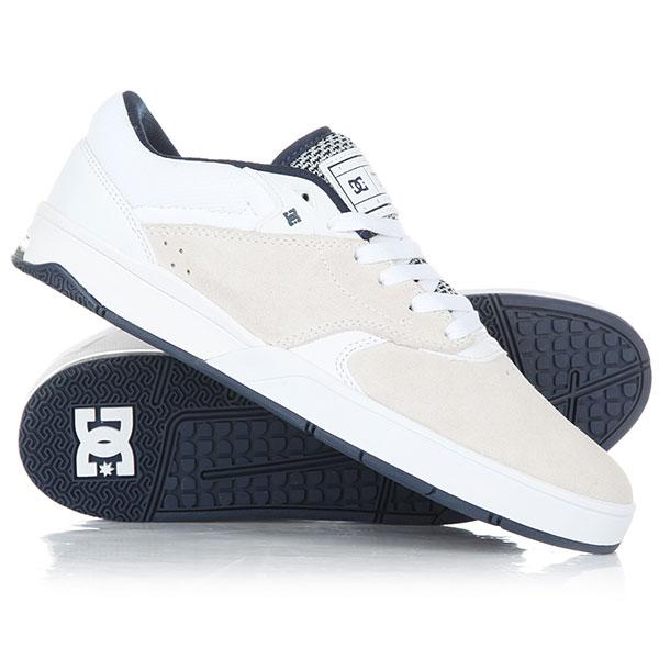 Кеды кроссовки низкие DC Tiago White/Navy dc shoes кеды dc heathrow se 11