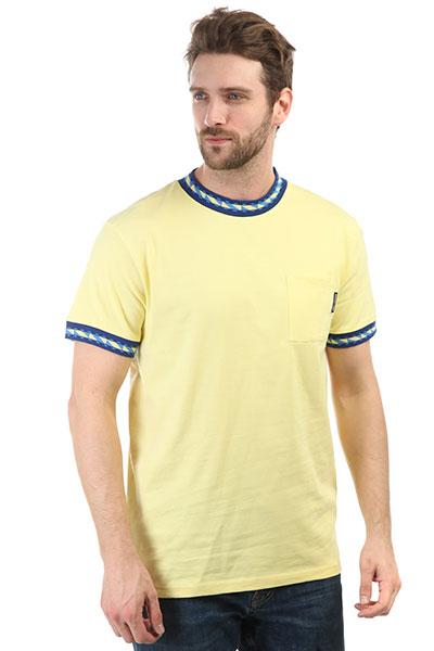 Футболка DC Dunbar Lemon Meringue<br><br>Цвет: желтый<br>Тип: Футболка<br>Возраст: Взрослый<br>Пол: Мужской