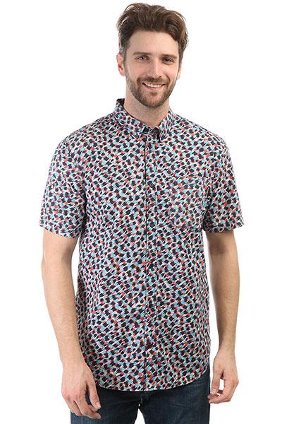 Рубашка Quiksilver Hepscott Dark Indigo<br><br>Цвет: синий<br>Тип: Рубашка<br>Возраст: Взрослый<br>Пол: Мужской