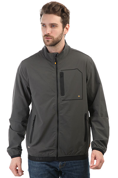 Ветровка Quiksilver Paddlejacket Dark Shadow jacket alpine pro jacket